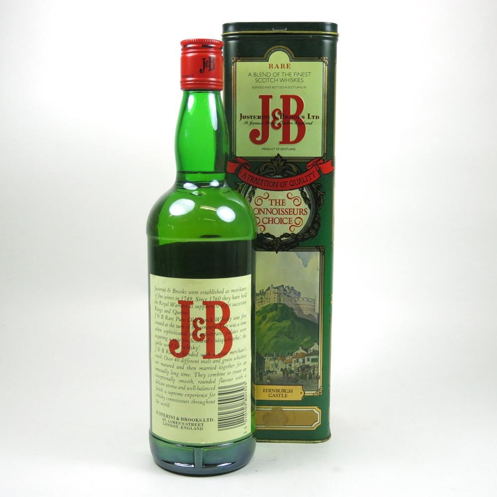 J&B Rare / Historic Places Tin Back