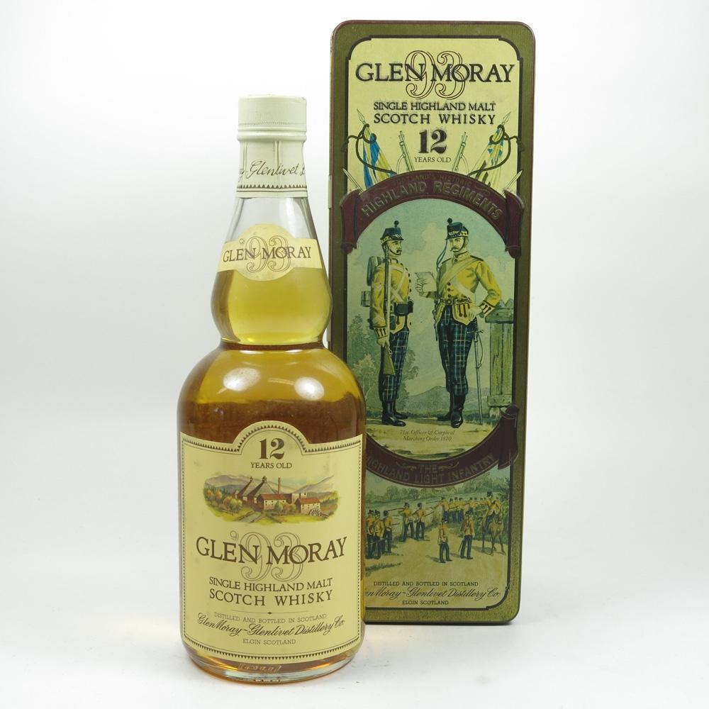 Glen Moray 12 Year Old The Highland Light Infantry Tin Front