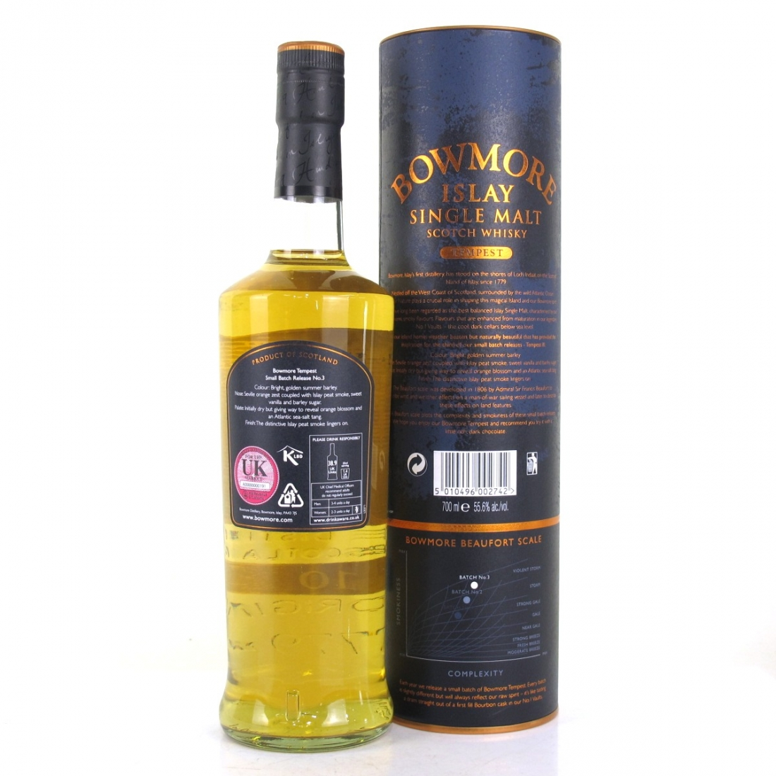Bowmore Tempest 10 Year Old Batch #3