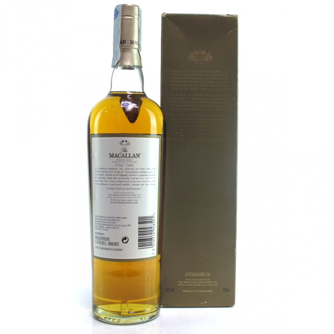 Macallan 8 Year Old Fine Oak