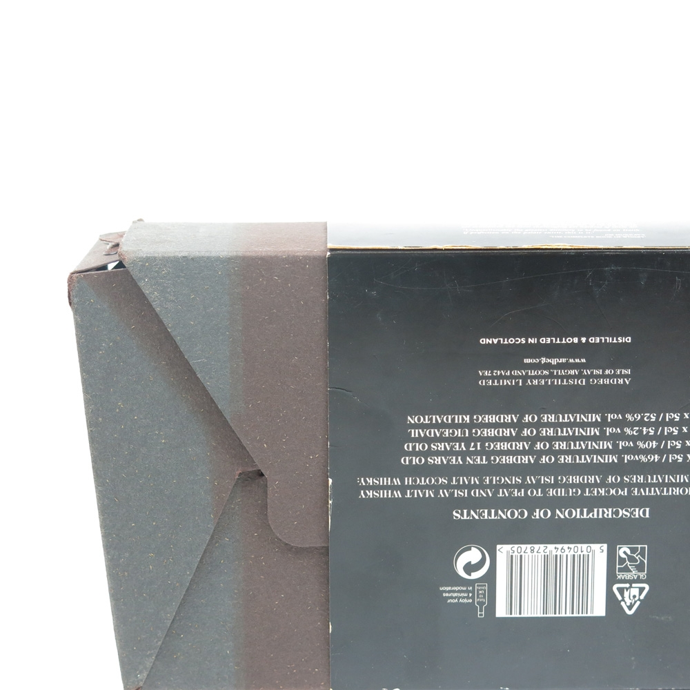 Ardbeg Peat Pack 4 x 5cl
