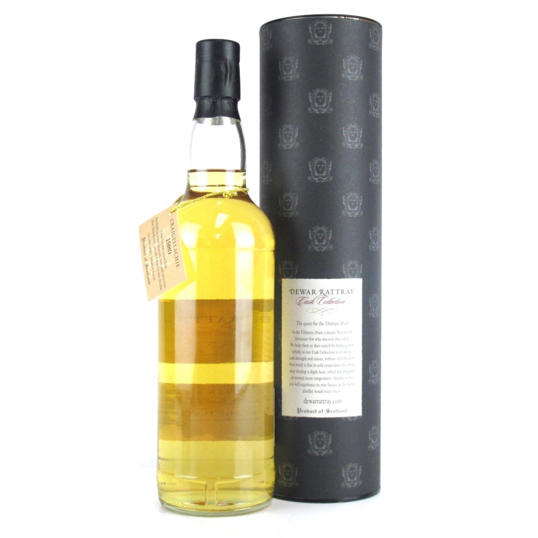 Craigellachie 1989 A.D. Rattray 15 Year Old