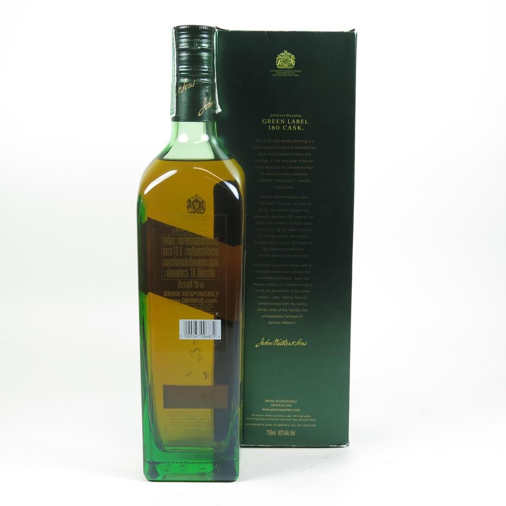 Johnnie Walker Green Label 180 Cask