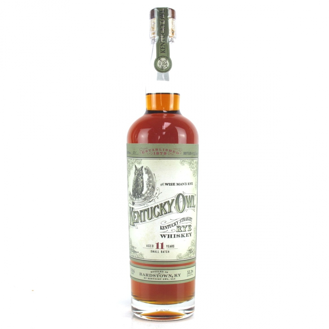 Kentucky Owl 11 Year Old Small Batch Rye
