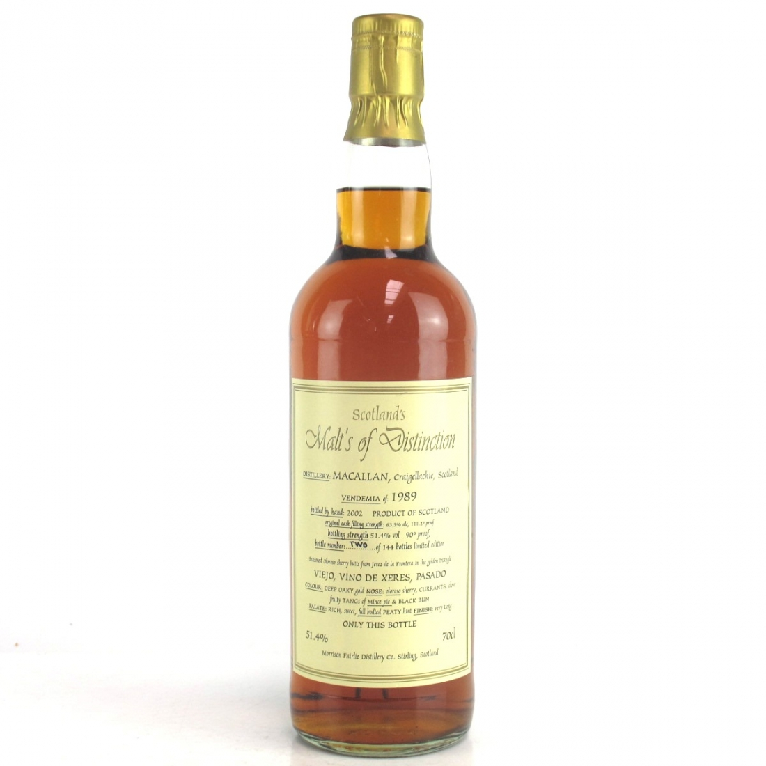 Macallan 1989 Malts of Distinction