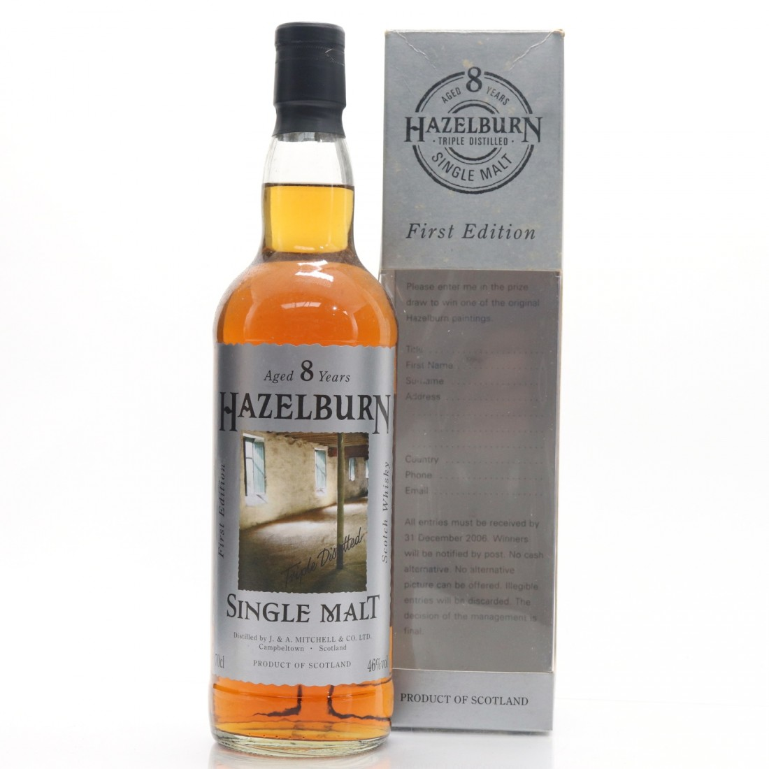 Hazelburn 8 Year Old First Edition 'The Maltings'