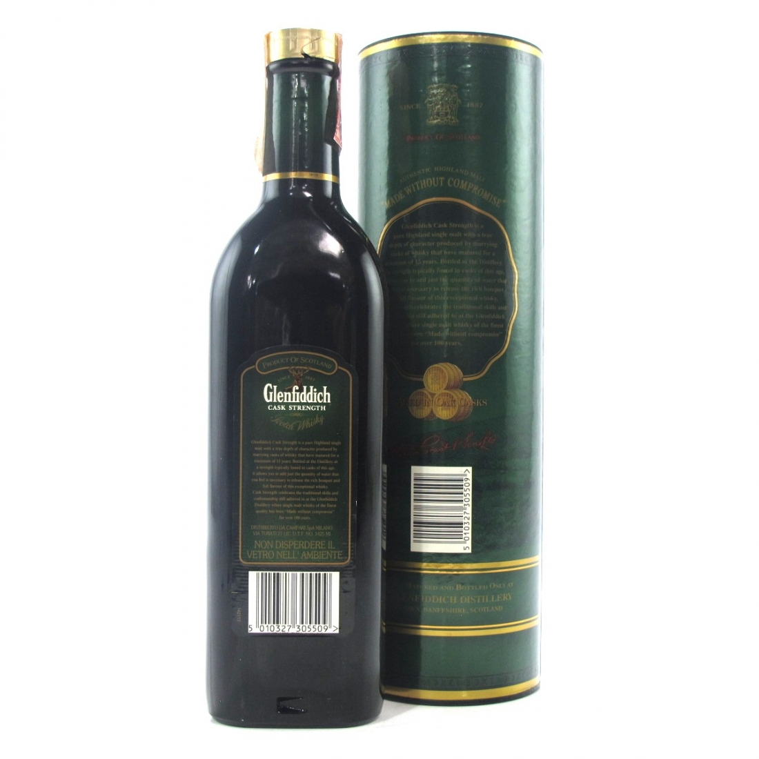 Glenfiddich 15 Year Old Cask Strength