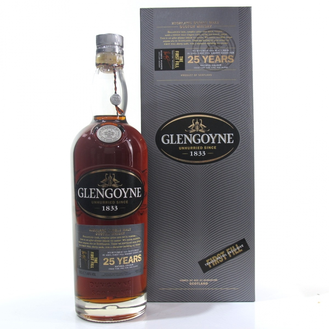 Glengoyne 25 Year Old / The First Fill