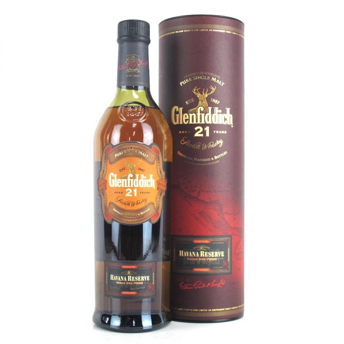 Glenfiddich 21 Year Old Havana Reserve