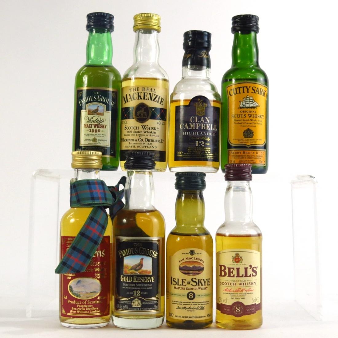 Scotch Whisky Miniature Selection 8 x 5cl