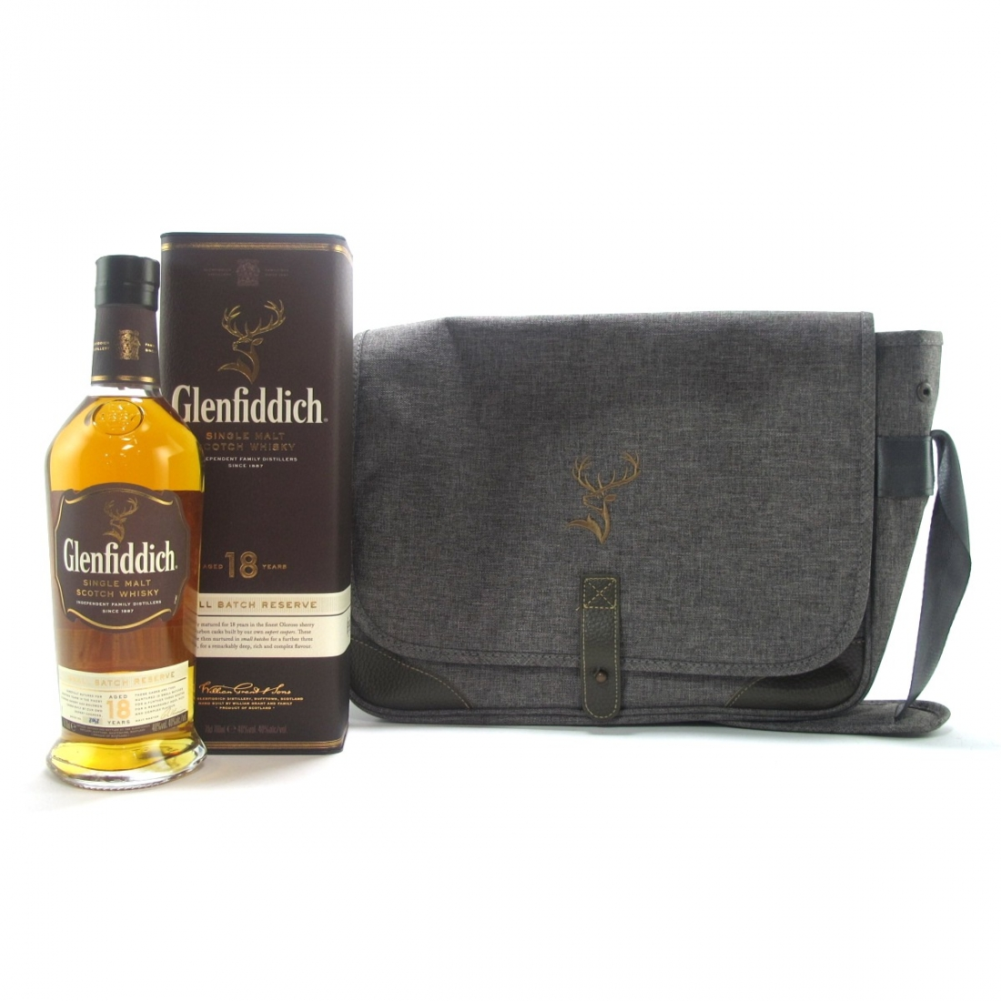 Glenfiddich 18 Year Old Small Batch Reserve / with Messenger Bag