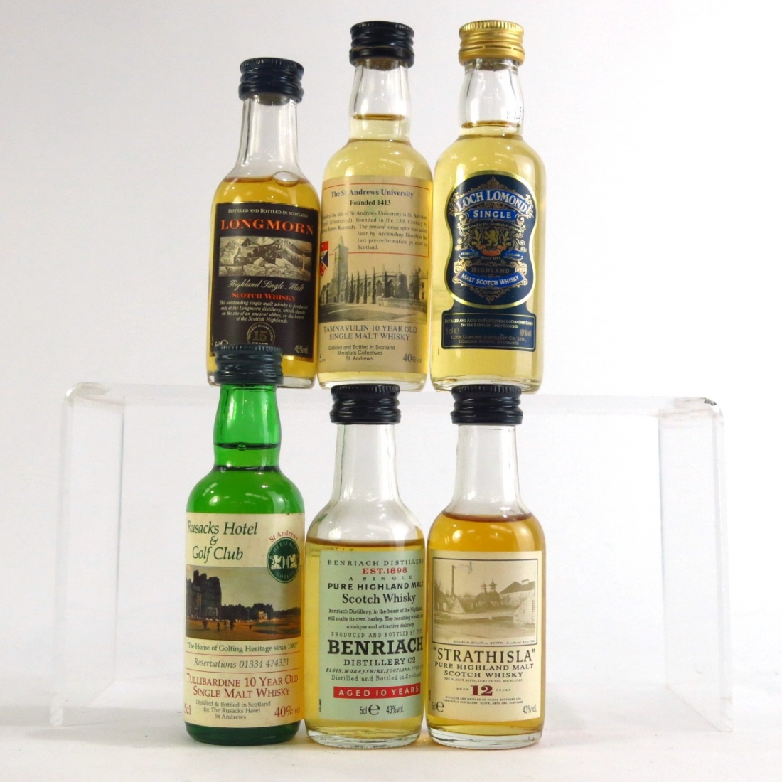 Single Malt Scotch Miniatures x 6