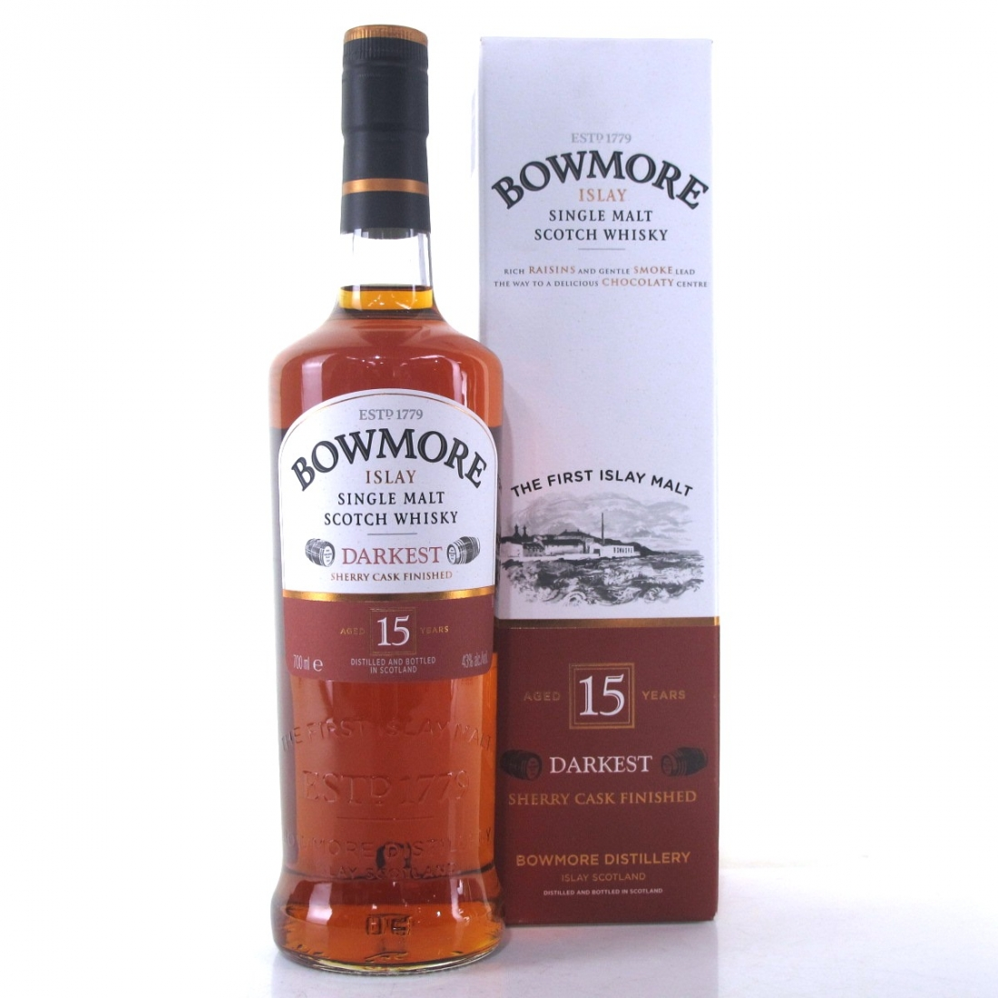 Bowmore 15 Year Old Darkest