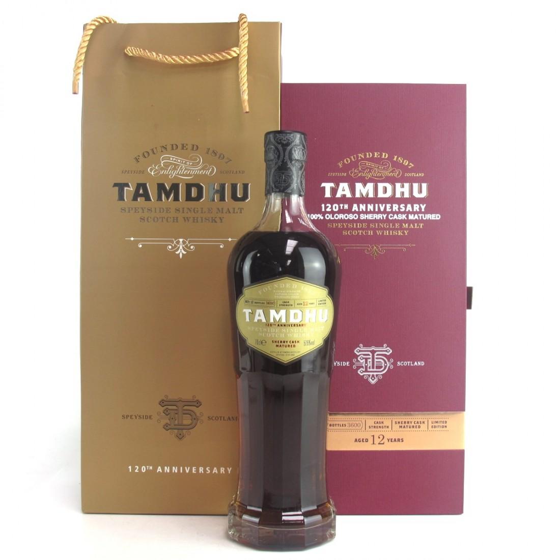 Tamdhu 120th Anniversary 12 Year Old / Taiwan Exclusive