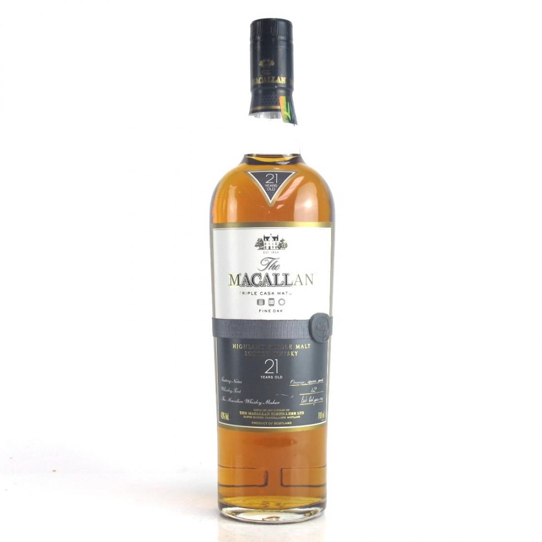 Macallan 21 Year Old Fine Oak