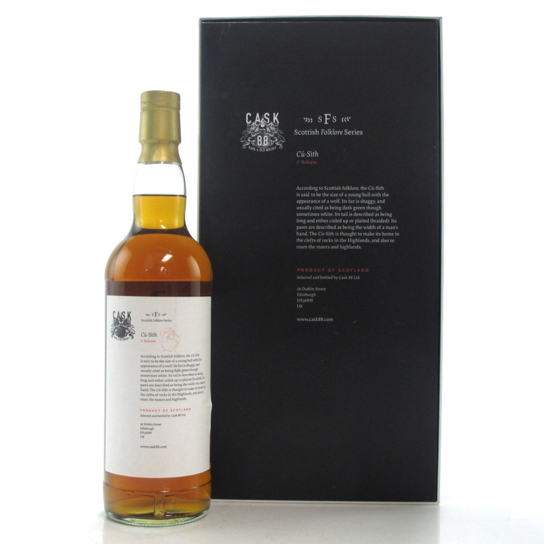 Ben Nevis 1972 Cask 88 45 Year Old / Scottish Folklore Series 1st Release