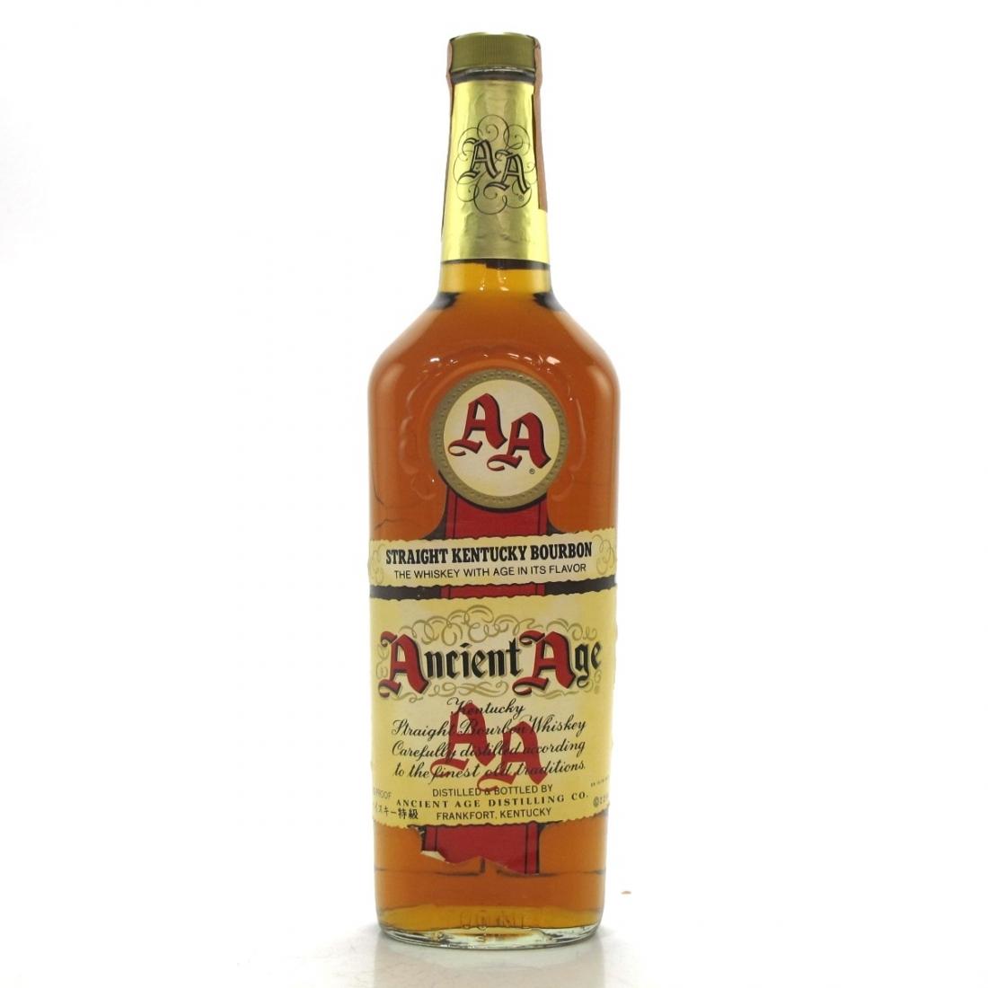 Ancient Age Kentucky Straight Bourbon 1980s