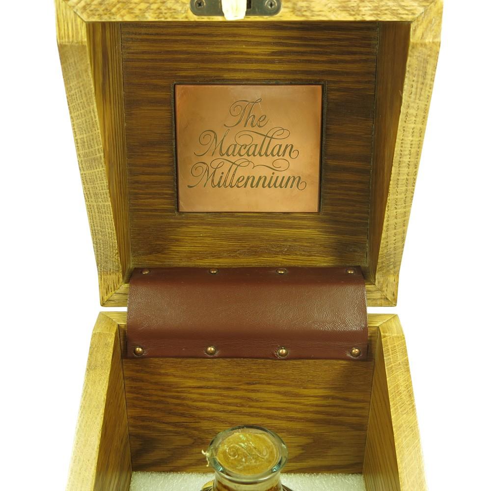 Macallan 1949 Millennium 50 Year Old Box