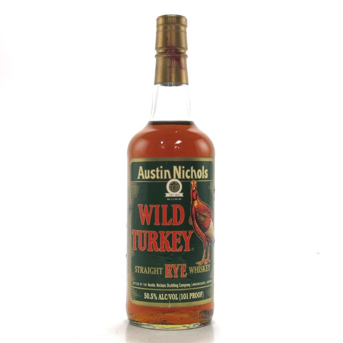 Wild Turkey 101 Proof Straight Rye / Christmas Rye