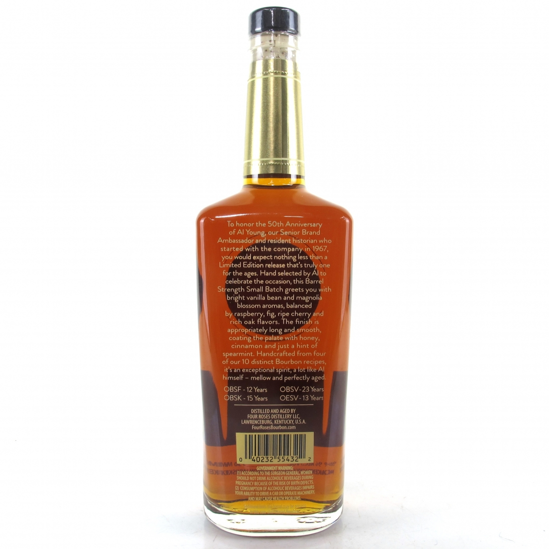 Four Roses Barrel Strength Small Batch/ Al Young 50th Anniversary