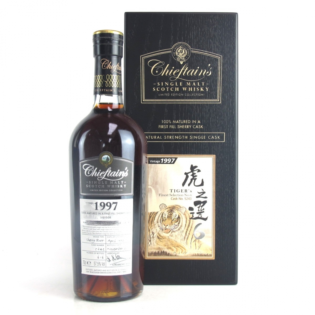 Mortlach 1997 Chieftain's / Tiger's Finest Selection No. 6