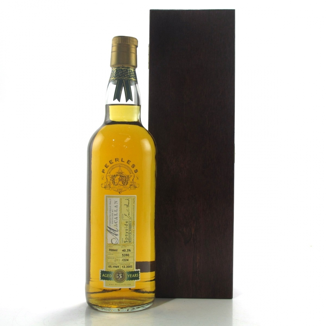 Macallan 1969 Duncan Taylor 33 Year Old