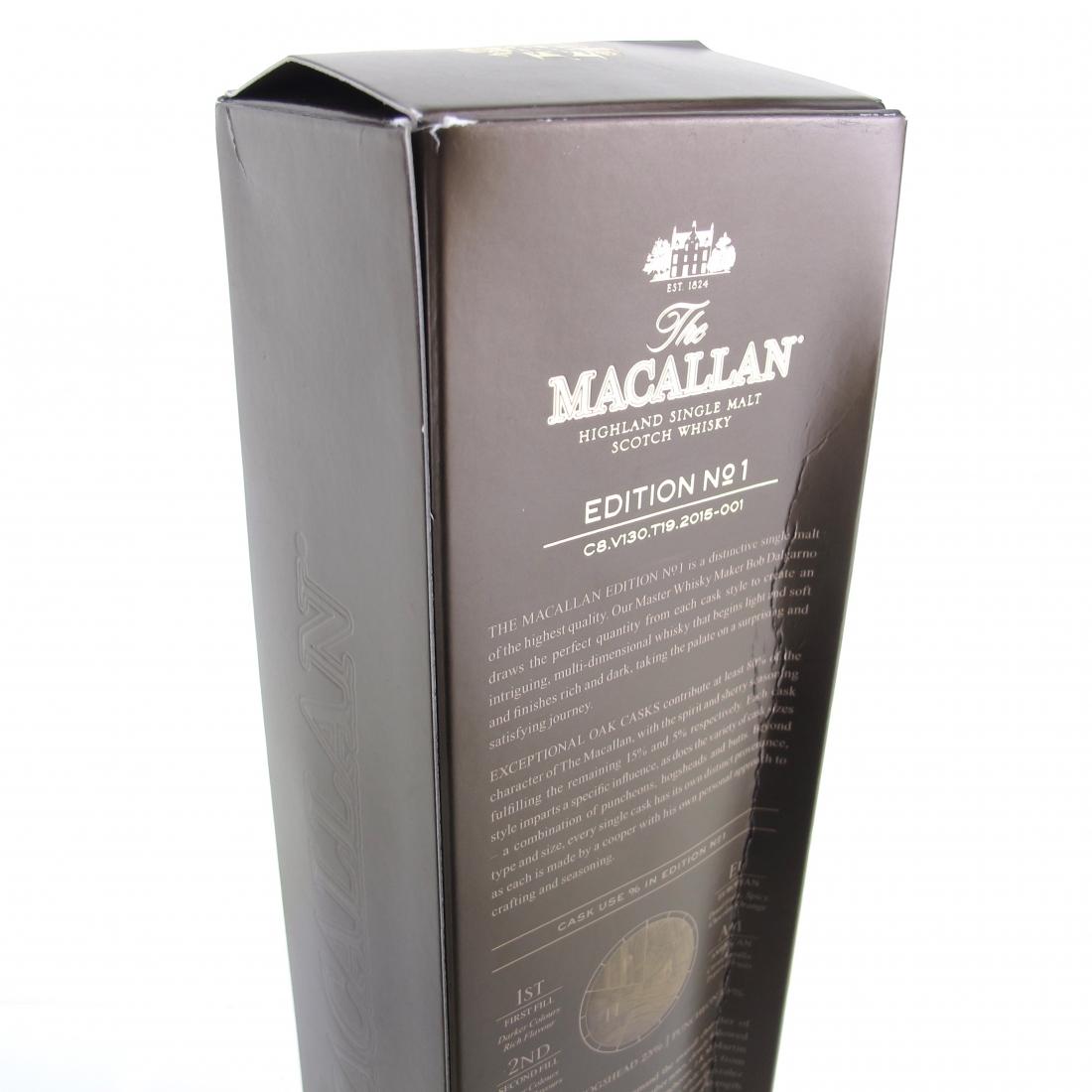 Macallan Edition No 1 75cl / US Import