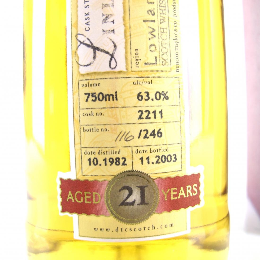 St Magdalene / Linlithgow 1982 Duncan Taylor 21 Year Old 75cl / US Import