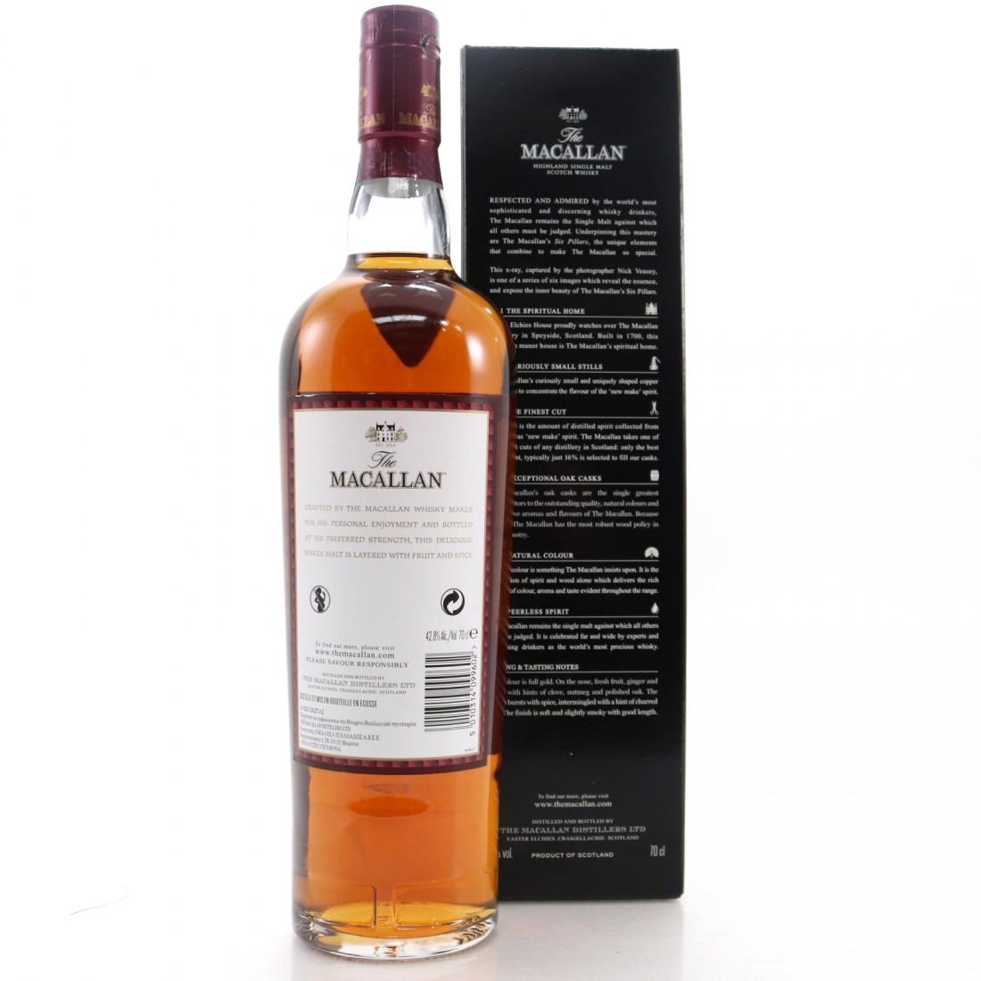 Macallan Whisky Maker's Edition Nick Veasey Pillars / No.5 Natural Colour