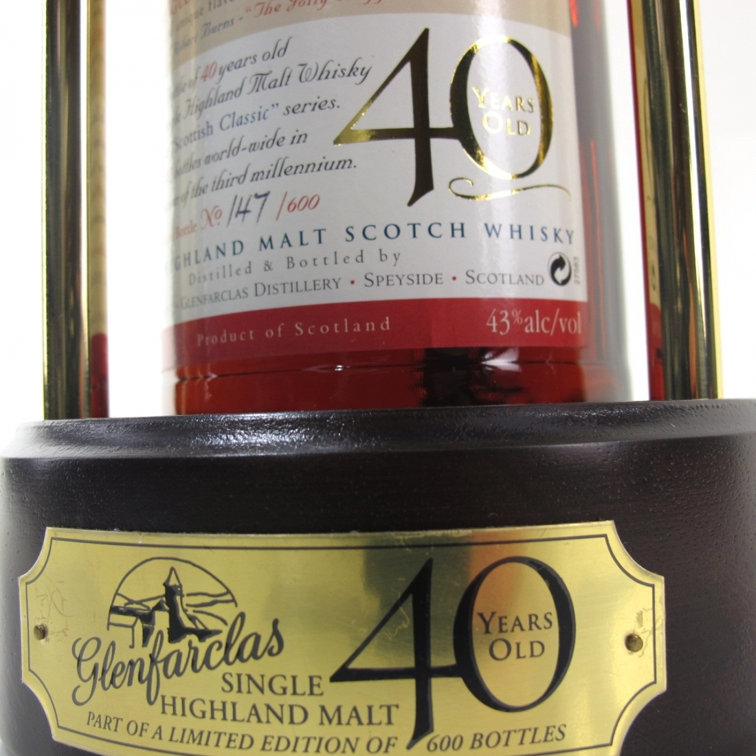 Glenfarclas 40 Year Old Scottish Classic