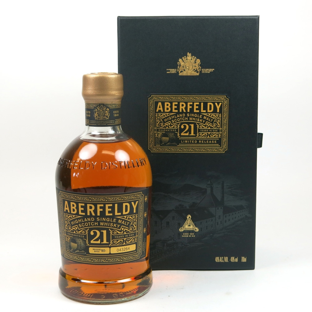 Aberfeldy 21 Year Old Front