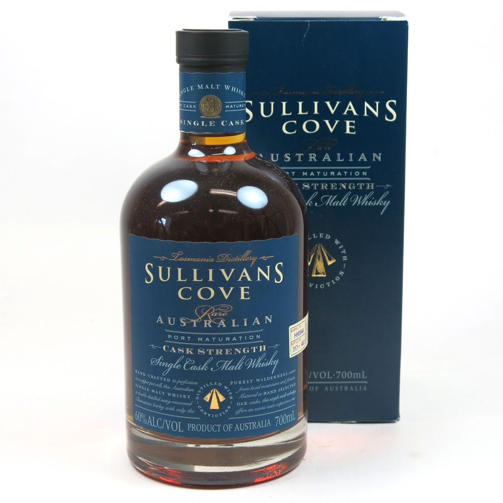 Sullivan's Cove Port Matured Cask Strength Batch HH0544