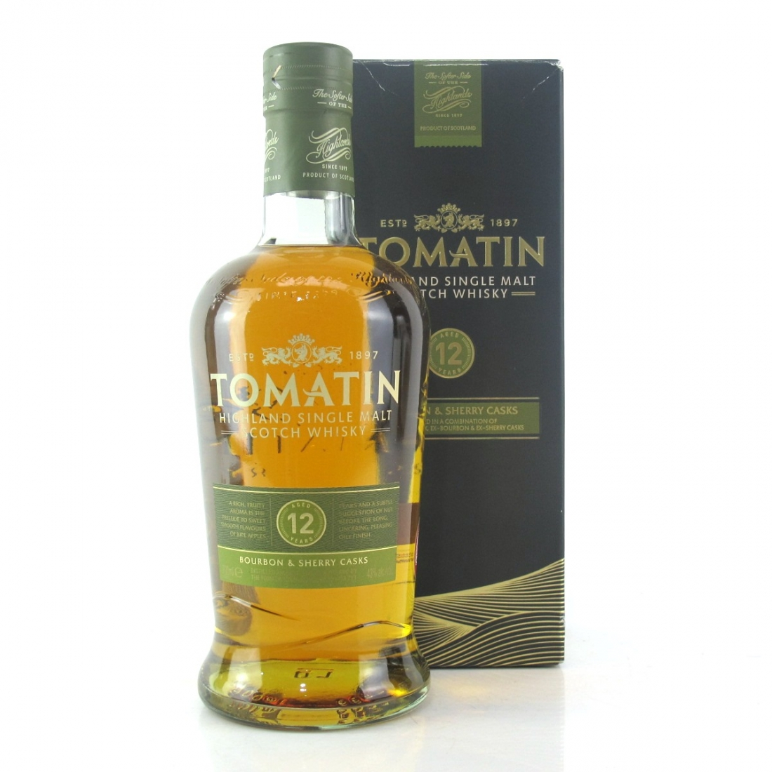 Tomatin 12 Year Old / Bourbon and Sherry Casks