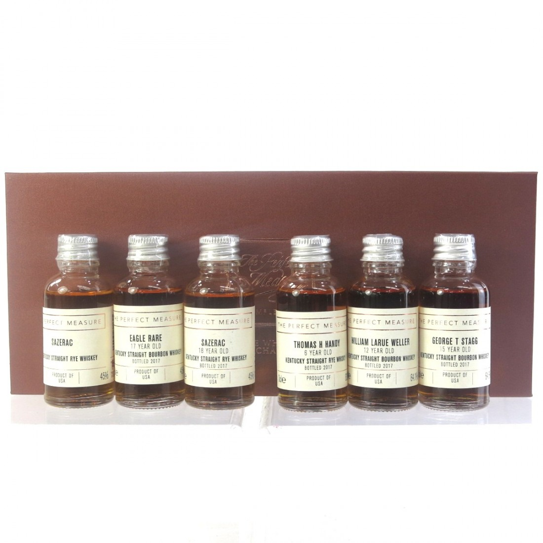 Buffalo Trace Antique Collection 2017 Tasting Set Miniatures 6 x 3cl