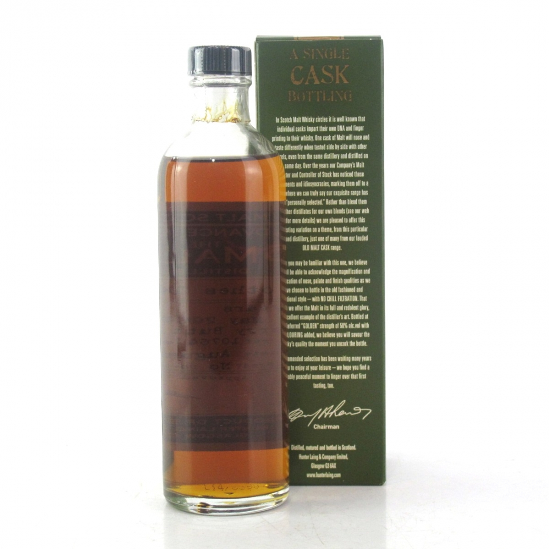 Glenrothes 2004 Hunter Laing 10 Year Old 20cl