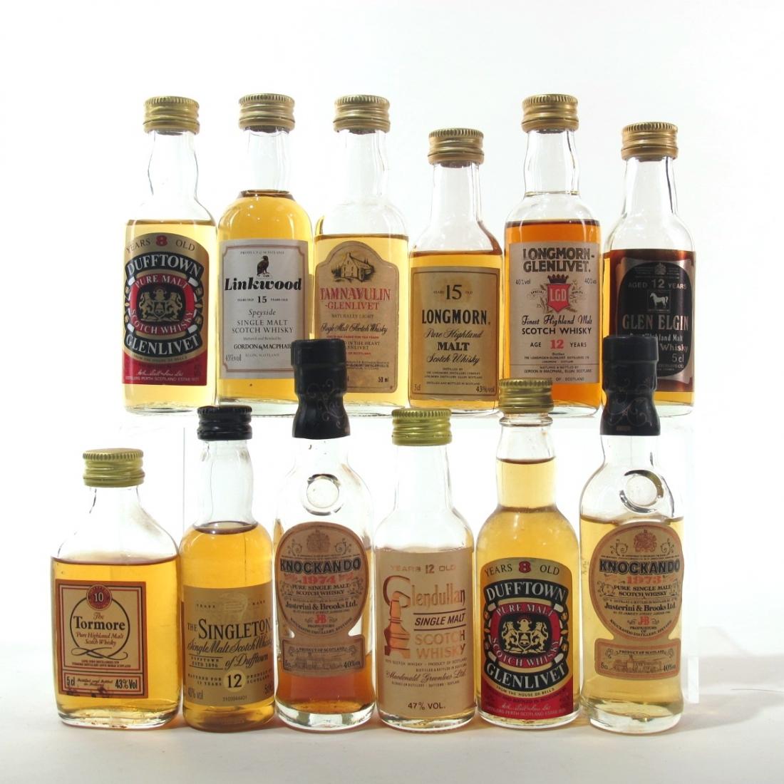 Highland Single Malt Miniatures 12 x 5cl