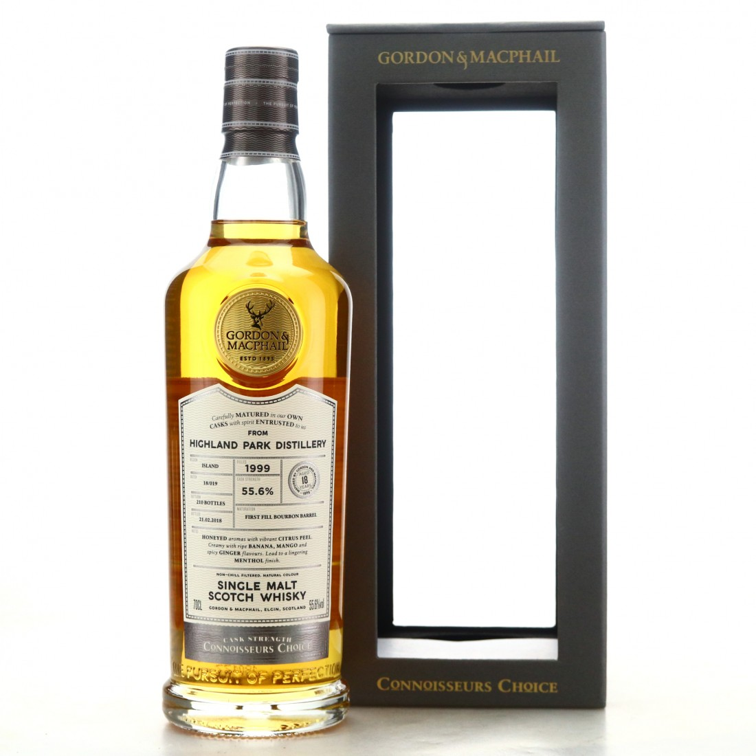 Highland Park 1999 Gordon and MacPhail 18 Year Old Batch #18/019