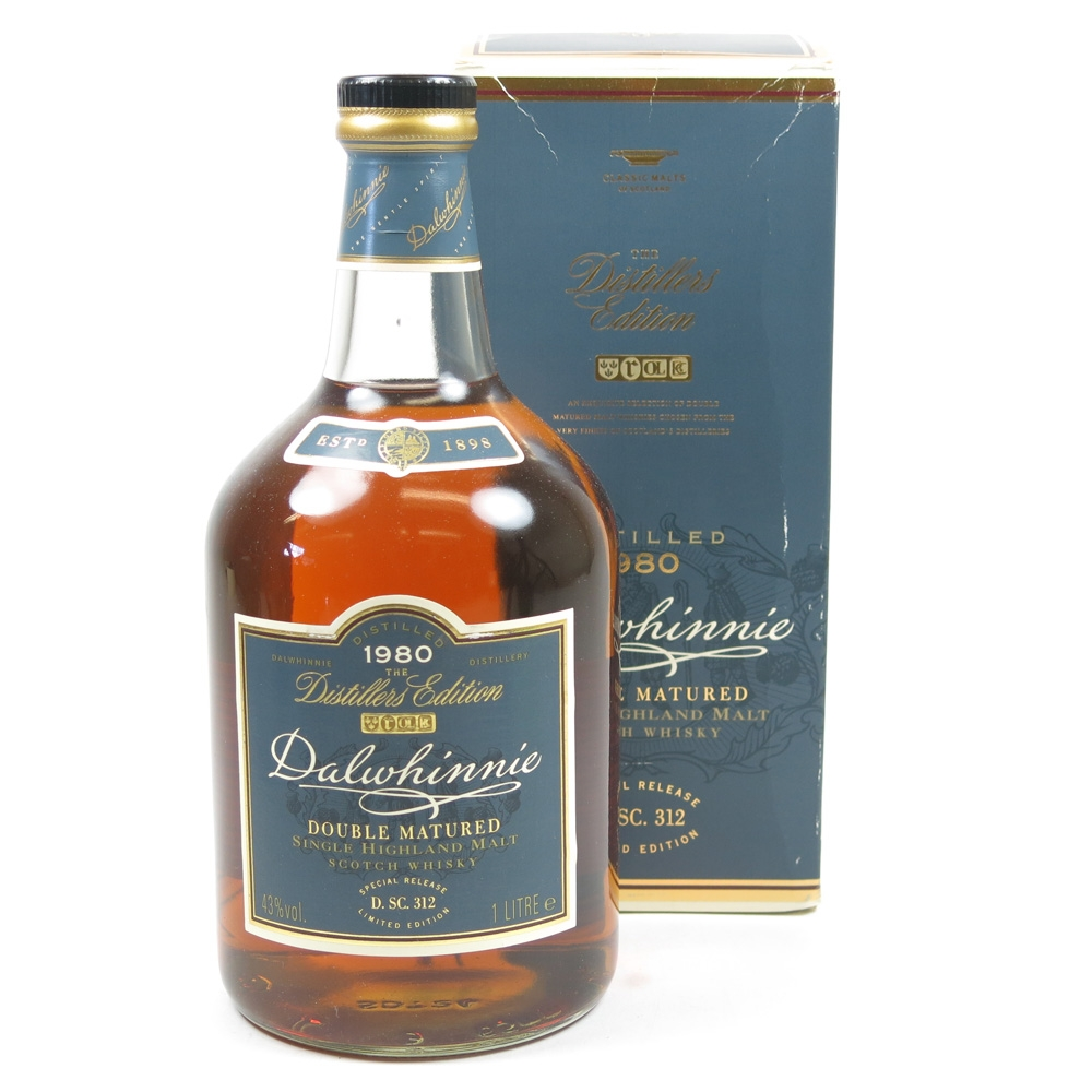 Dalwhinnie 1980 Distillers Edition / First Release 1 Litre Front