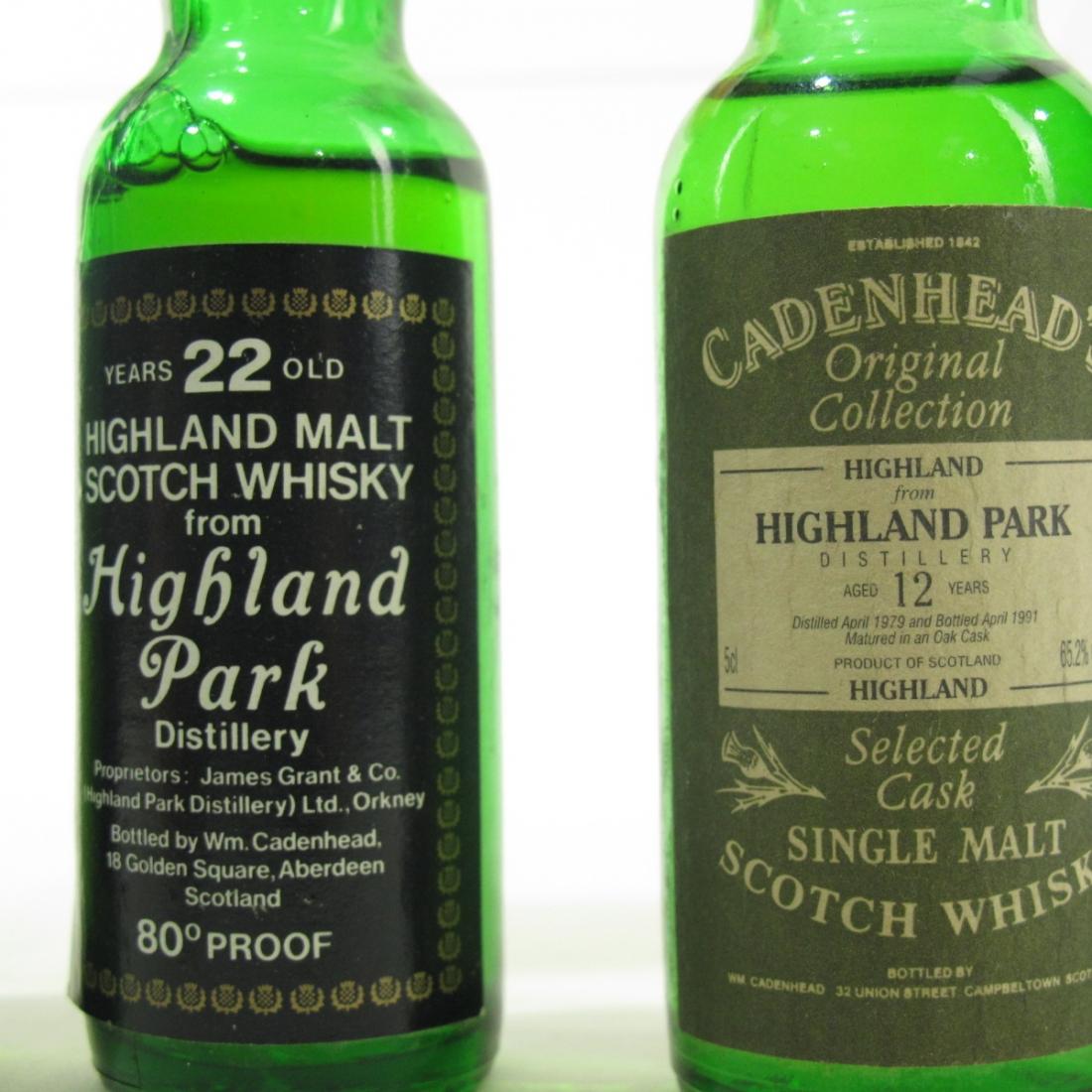 Highland Park Cadenhead's Miniatures x 6