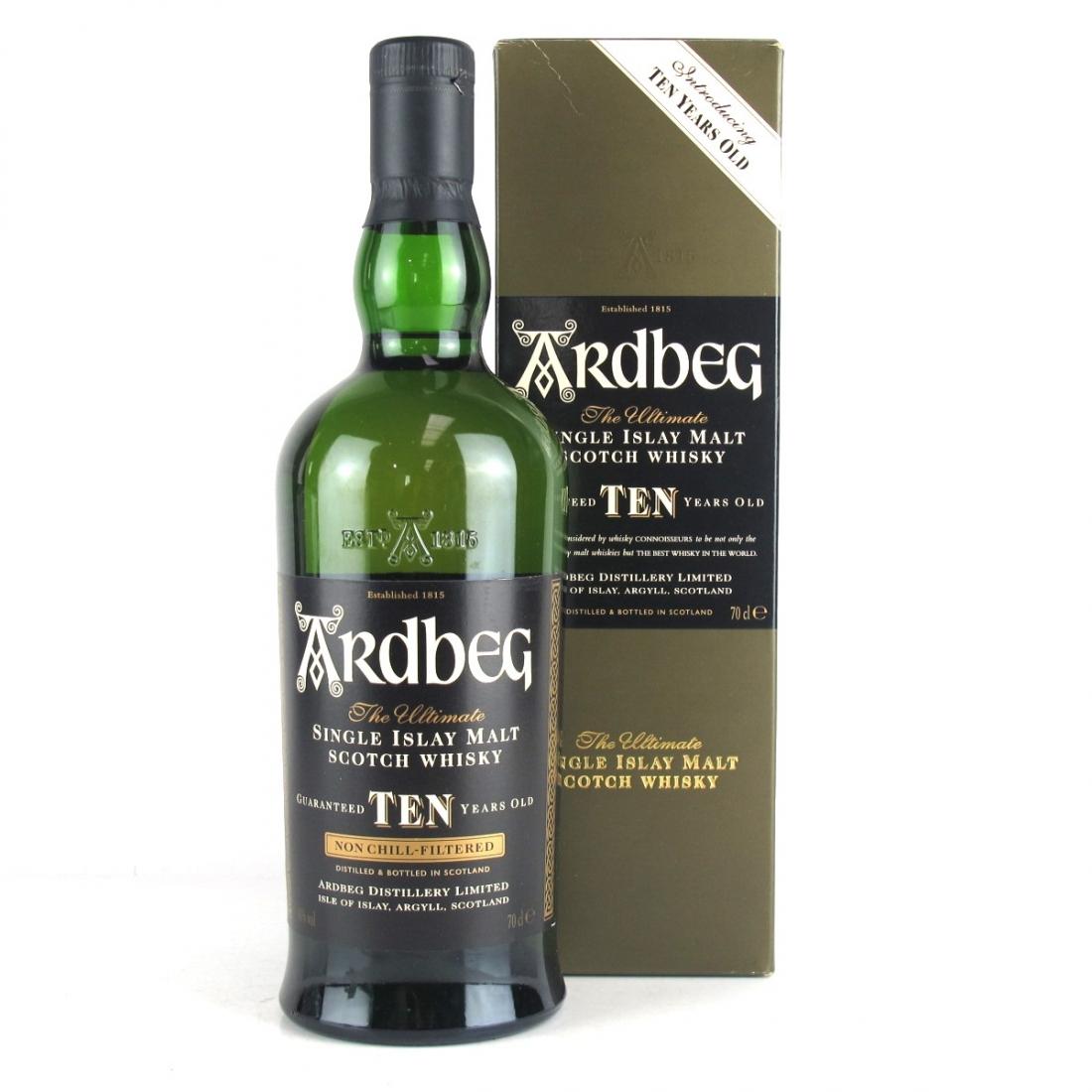 Ardbeg 10 Year Old / Introducing