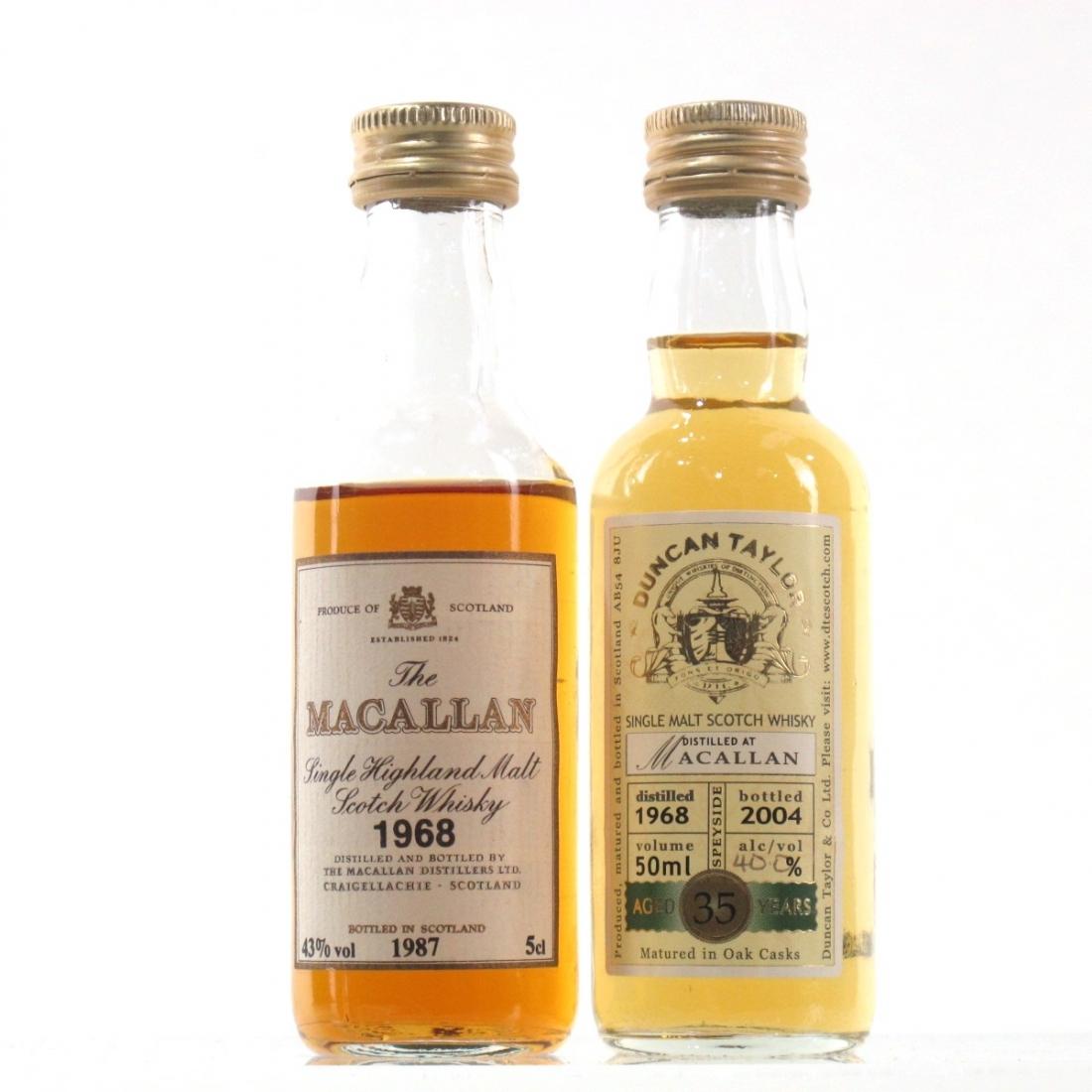 Macallan 1968 Miniatures 2 x 5cl