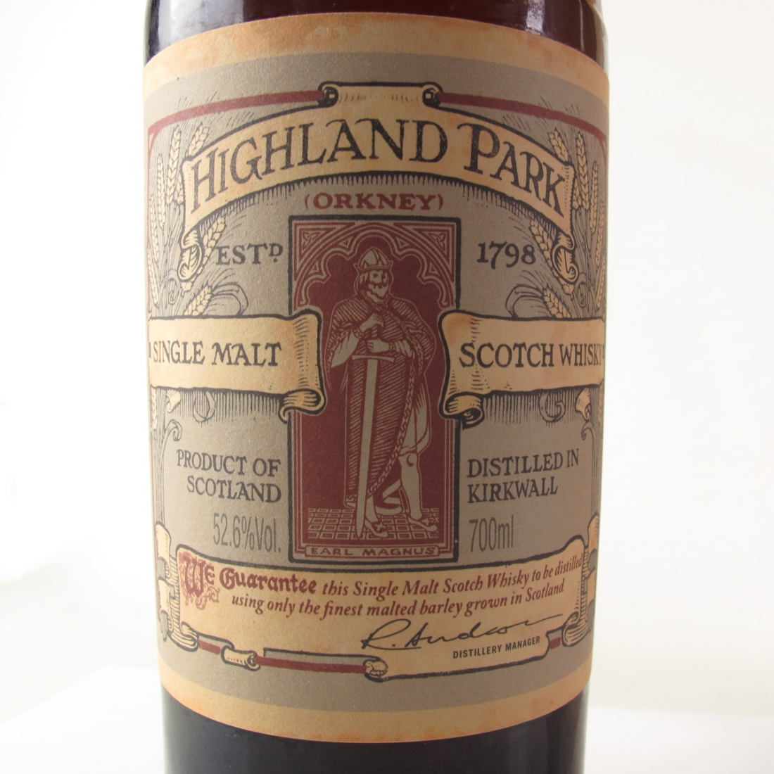 Highland Park Earl Magnus 15 Year Old