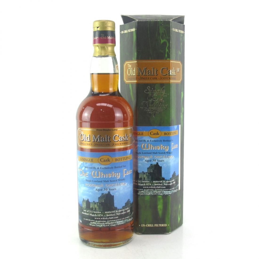 Rosebank 1974 Douglas Laing 30 Year Old / The Whisky Fair