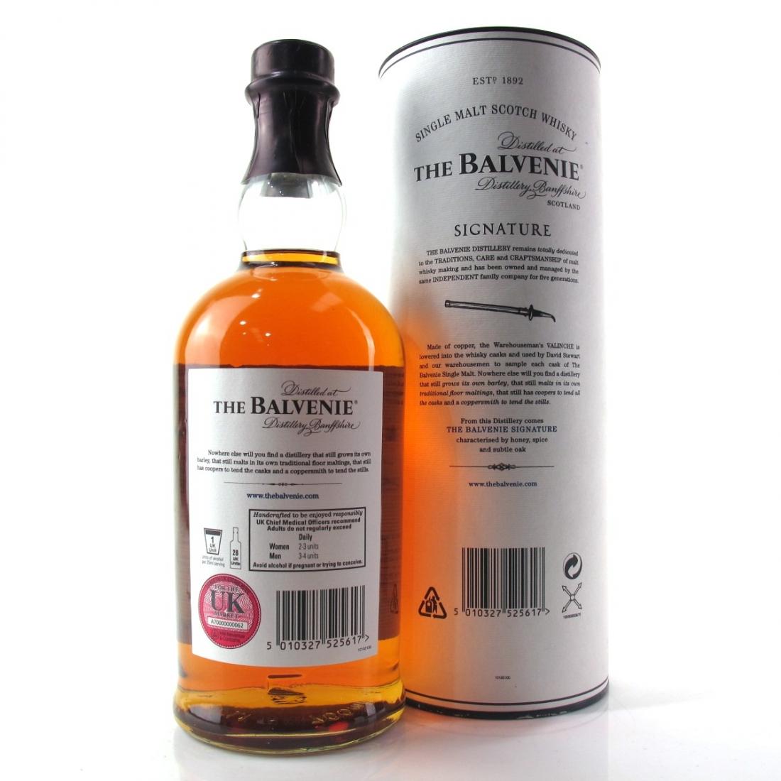 Balvenie 12 Year Old Signature Batch #001
