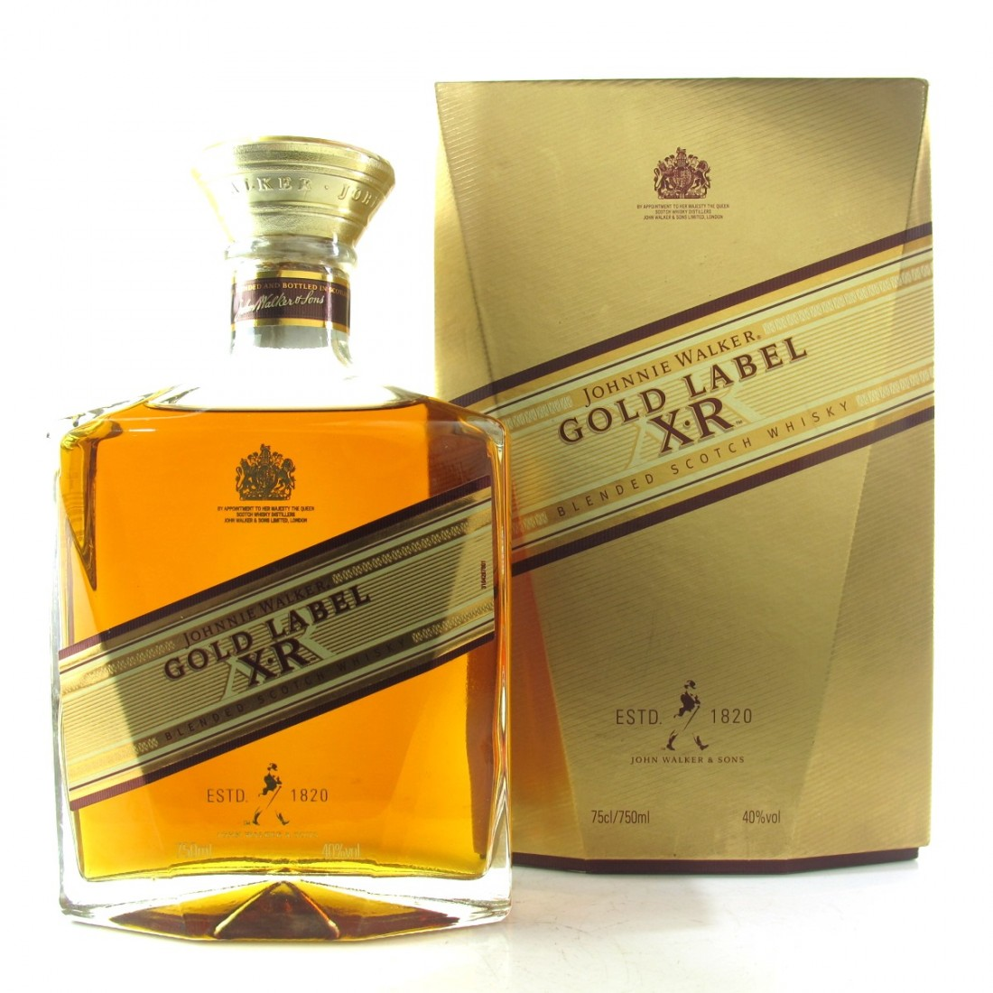 Johnnie Walker Gold Label XR 1st Edition