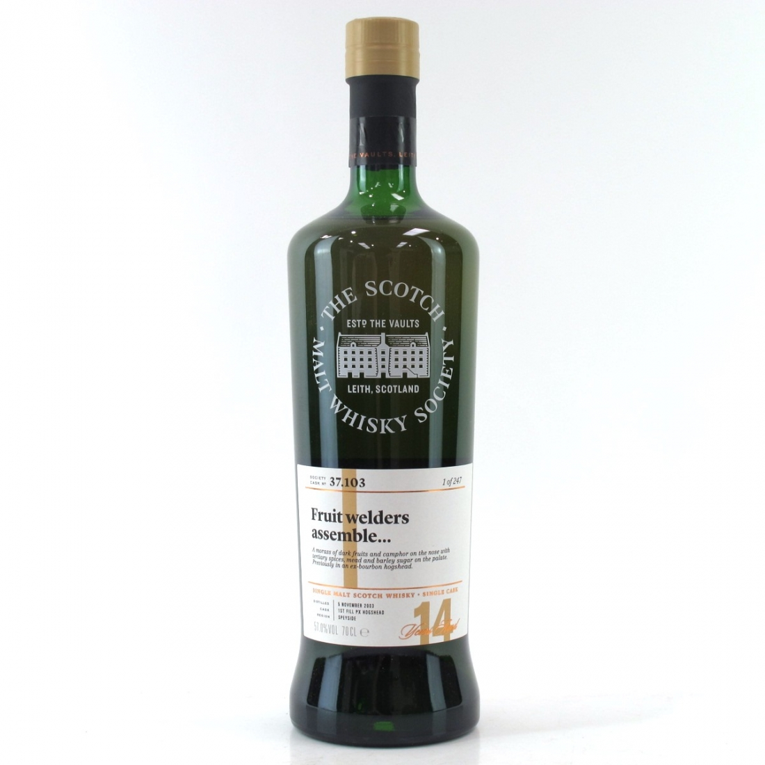 Cragganmore 2003 SMWS 14 Year Old 37.103