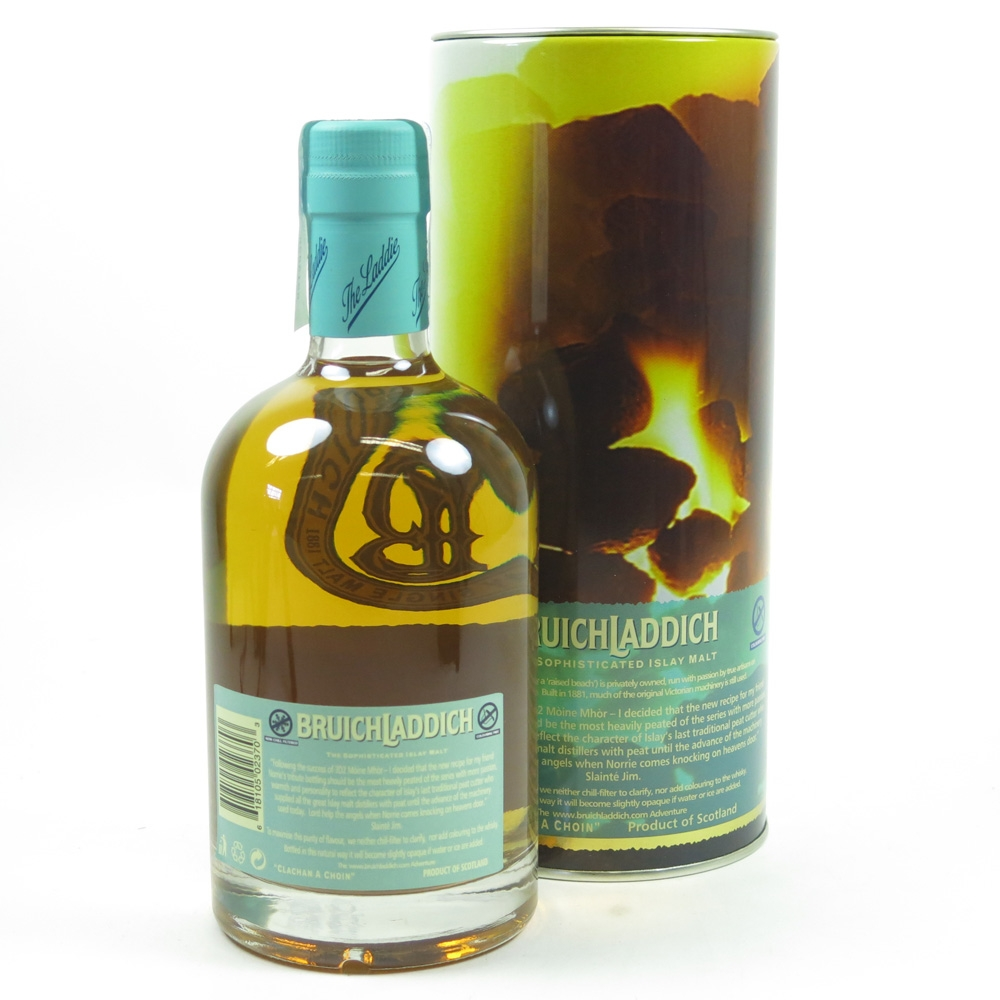 Bruichladdich 3D3 Norrie Campbell Tribute Back