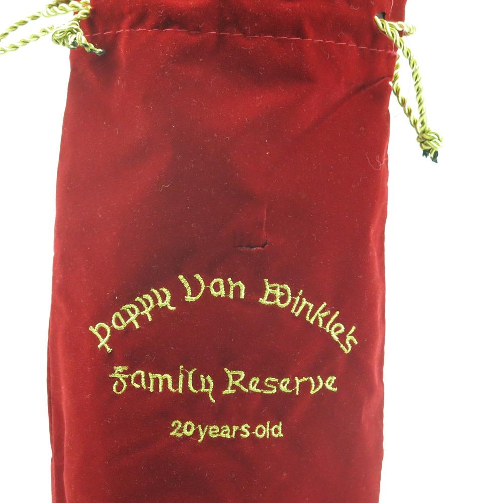Pappy Van Winkle 20 Year Old Family Reserve / Leak