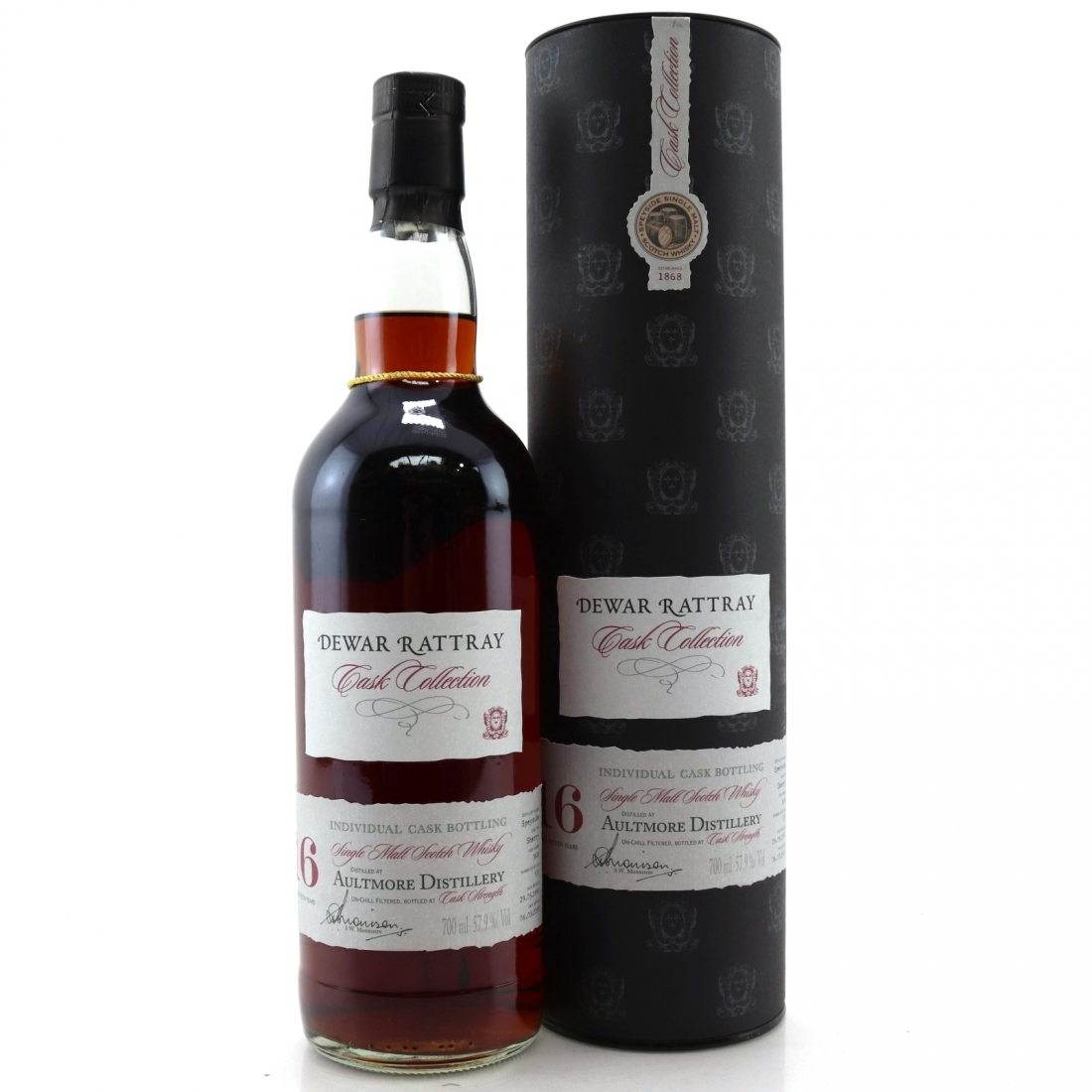 Aultmore 1990 A.D. Rattray 16 Year Old