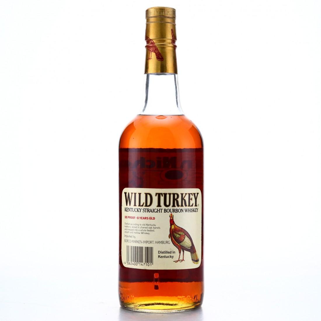 Wild Turkey 8 Year Old 101 Proof 1986